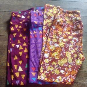 Lularoe legging bundle